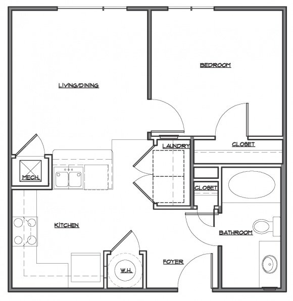 1 Bedroom 1 Bath - Pike's Peak