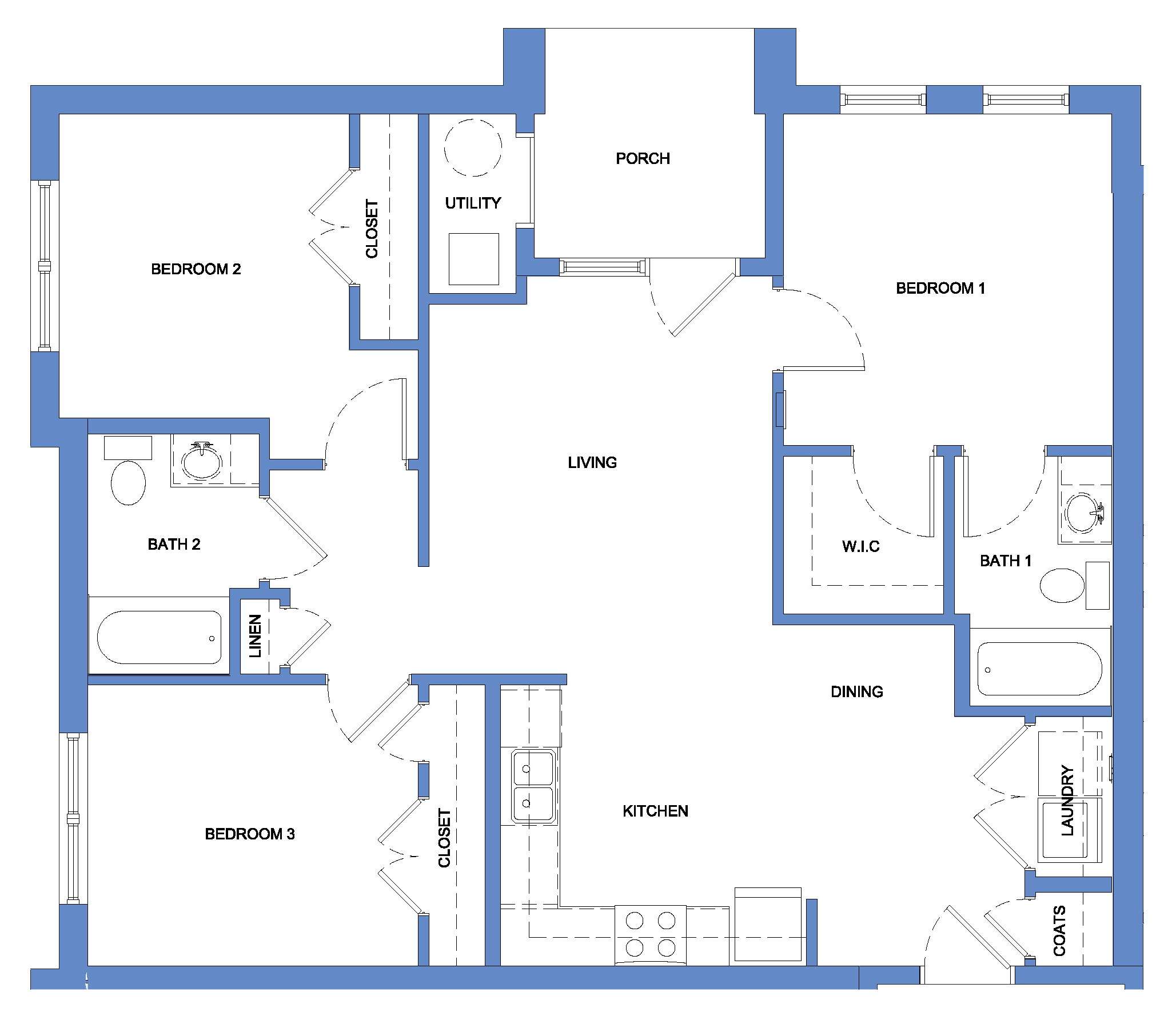 Osprey - Three Bedroom, Two Bath