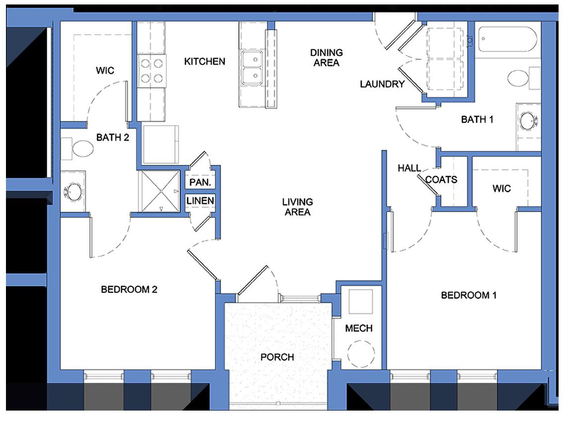 Humboldt - 2 Bedroom, 2 Bath